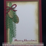 Christmas Pines by Cindy Fodro